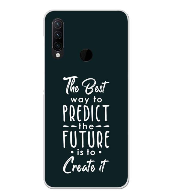 Create the Future Back Cover for Lenovo K10 Note