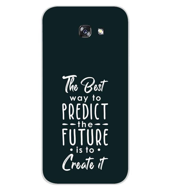 Create the Future Back Cover for Samsung Galaxy A7 (2017)