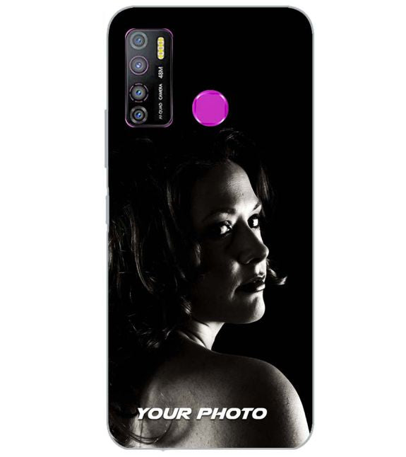 Your Photo Back Cover for Infinix Hot 9 and Hot 9 Pro