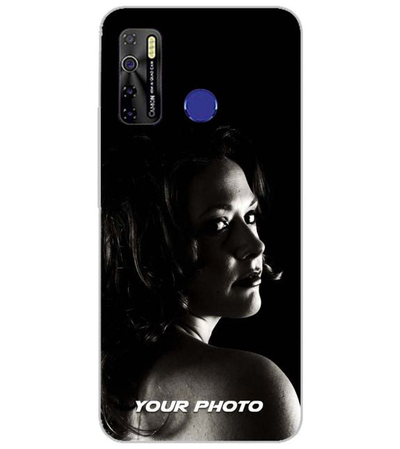 Your Photo Back Cover for Infinix Smart 4 Plus