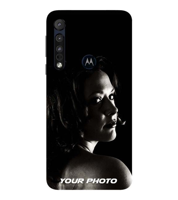 Your Photo Back Cover for Motorola One Macro
