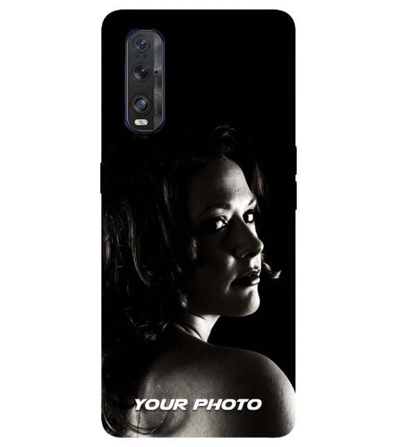 Your Photo Back Cover for Oppo Find X2