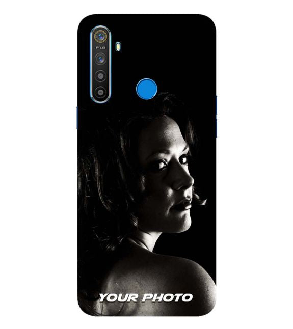 Your Photo Back Cover for Realme Q