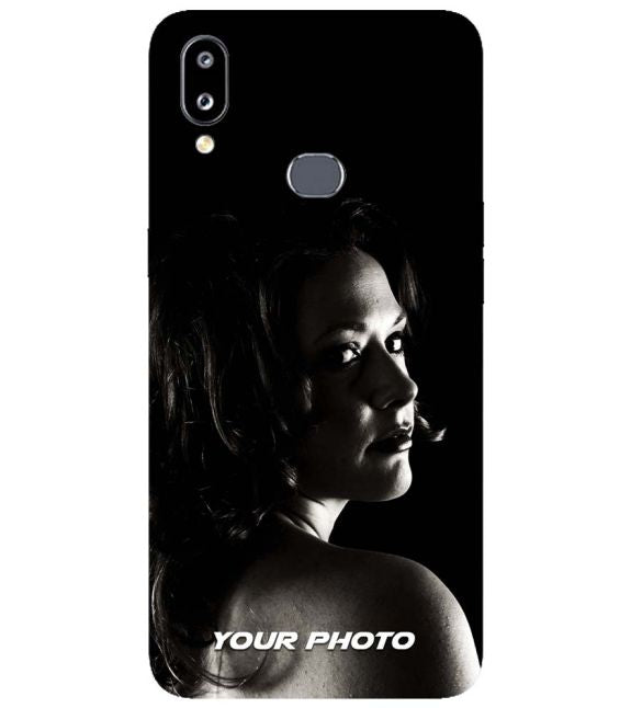 Your Photo Back Cover for Samsung Galaxy A10s