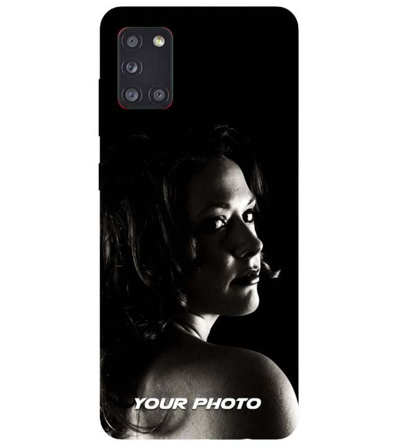 Your Photo Back Cover for Samsung Galaxy A31