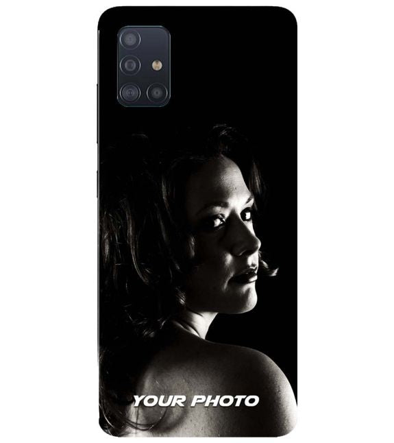 Your Photo Back Cover for Samsung Galaxy A71s