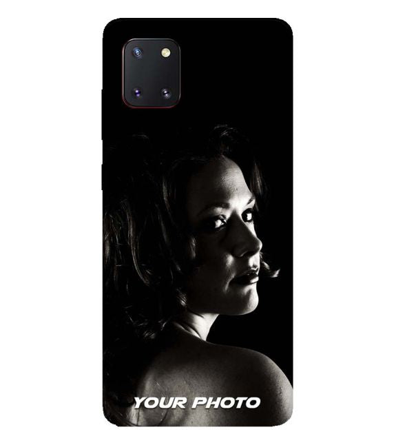 Your Photo Back Cover for Samsung Galaxy A81
