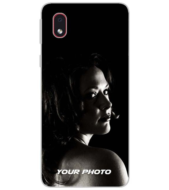 Your Photo Back Cover for Samsung Galaxy M01 Core