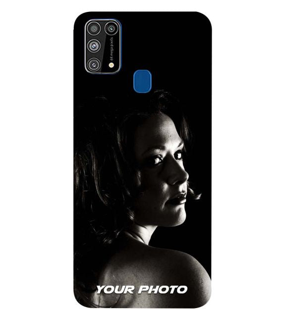 Your Photo Back Cover for Samsung Galaxy M31