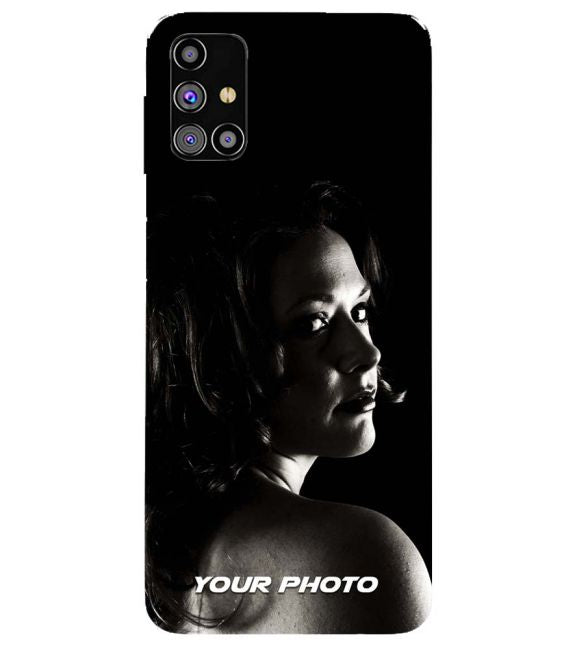 Your Photo Back Cover for Samsung Galaxy M31s