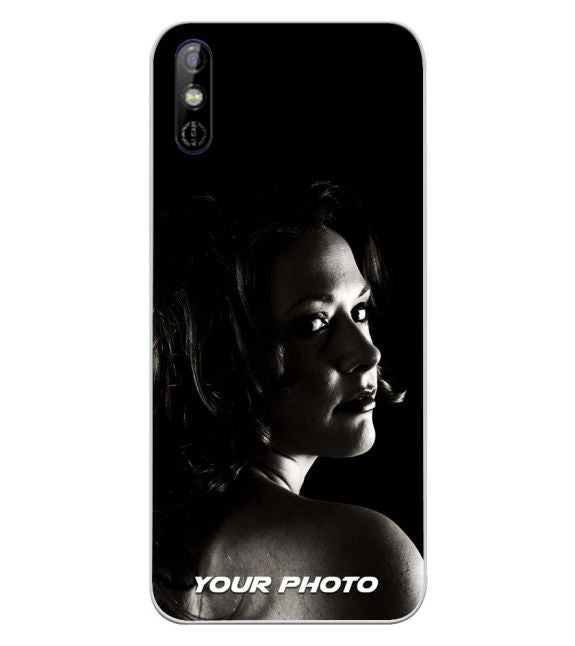 Your Photo Back Cover for Tecno Spark Go