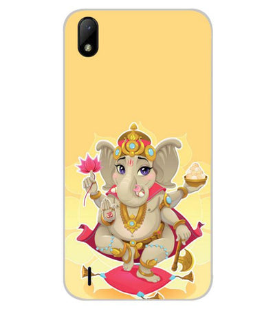 Cute Ganesha Back Cover for Lava Z41