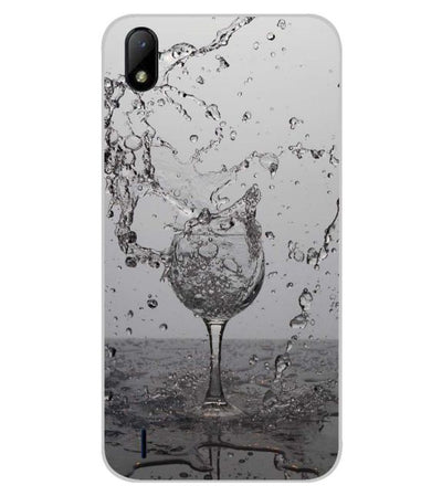 Dancing Water Back Cover for Lava Z41