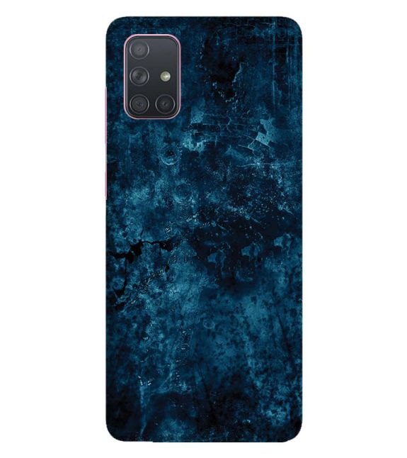 Deep Blues Back Cover for Samsung Galaxy A71
