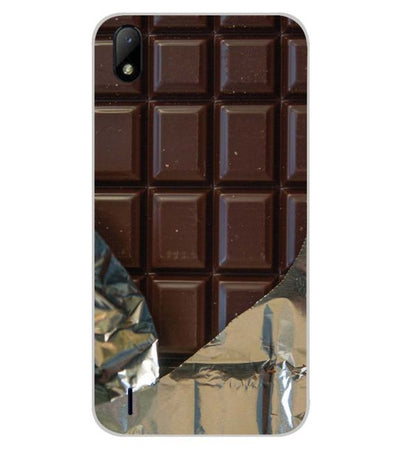 Eat that Chocolate Bar Back Cover for Lava Z41