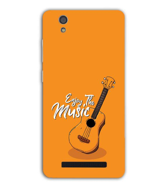 Enjoy the Music Back Cover for Gionee F103