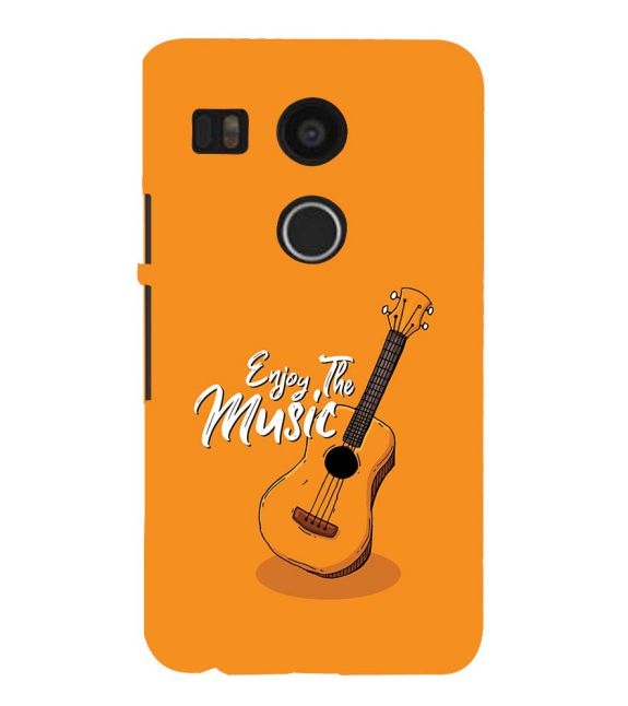 Enjoy the Music Back Cover for Google Nexus 5X
