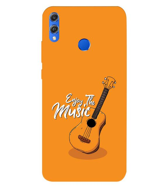 Enjoy the Music Back Cover for Huawei Honor 8X