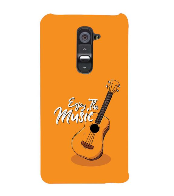 Enjoy the Music Back Cover for LG G2