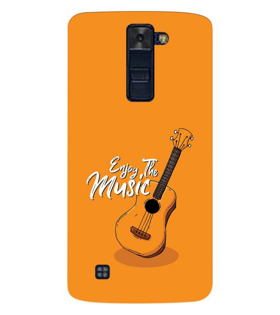 Enjoy the Music Back Cover for LG K8