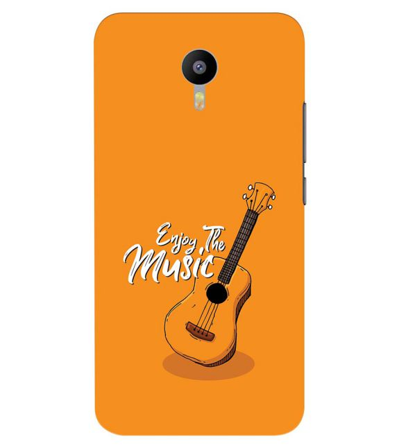 Enjoy the Music Back Cover for Meizu M2