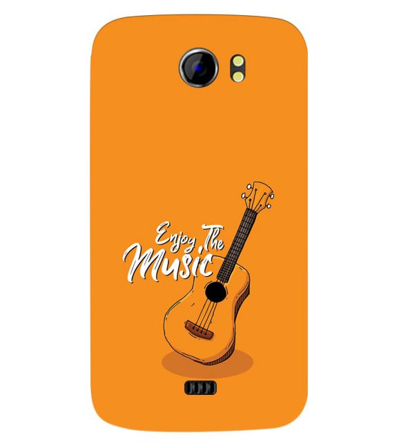 Enjoy the Music Back Cover for Micromax A110 Canvas 2