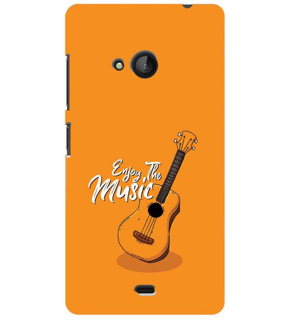 Enjoy the Music Back Cover for Microsoft Lumia 540