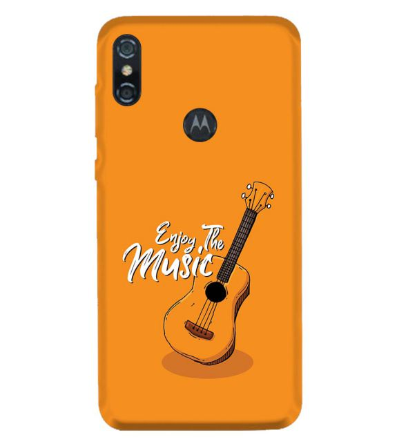 Enjoy the Music Back Cover for Motorola One (P30 Play)