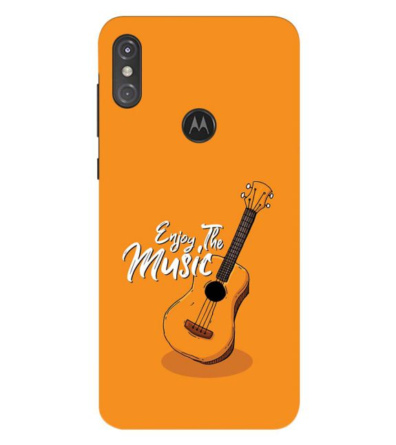 Enjoy the Music Back Cover for Motorola One Power (P30 Note)