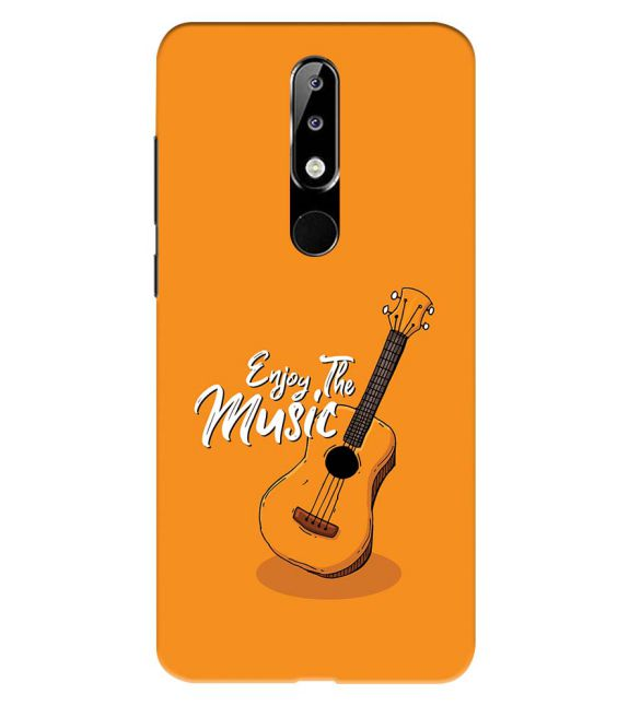 Enjoy the Music Back Cover for Nokia 5.1 Plus (Nokia X5)