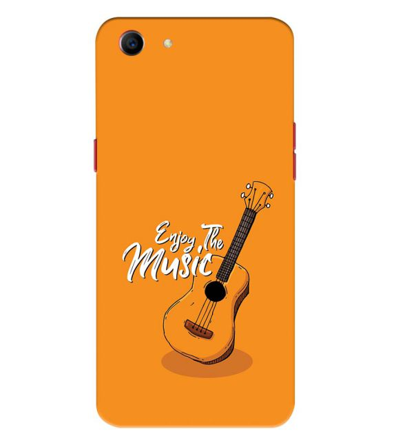 Enjoy the Music Back Cover for Oppo A1
