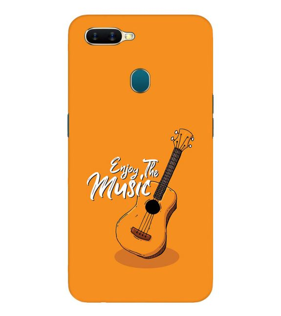 Enjoy the Music Back Cover for Oppo A7
