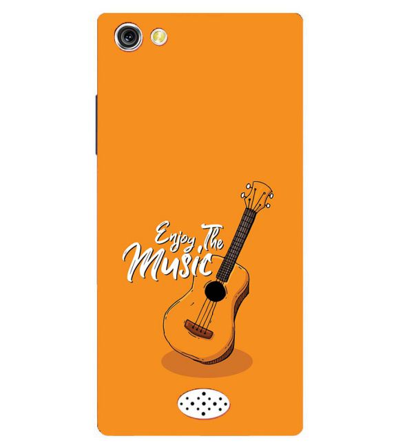 Enjoy the Music Back Cover for Oppo Neo 5
