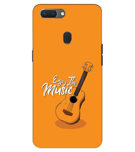Enjoy the Music Back Cover for Oppo Realme 2