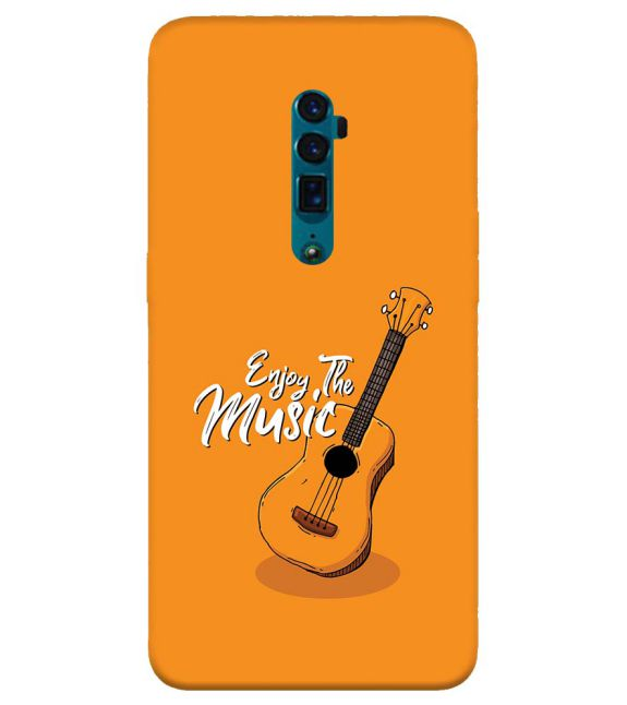 Enjoy the Music Back Cover for Oppo Reno 10x zoom