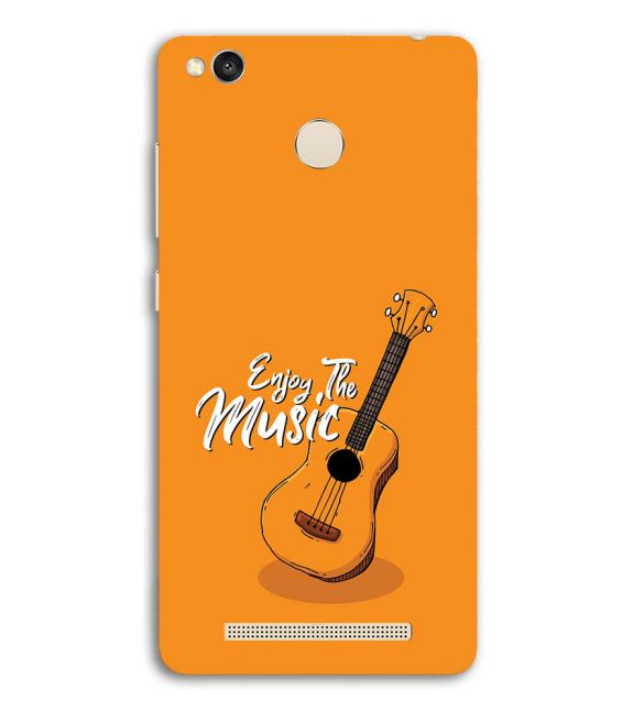 Enjoy the Music Back Cover for Redmi 3S Prime (With Sensor)