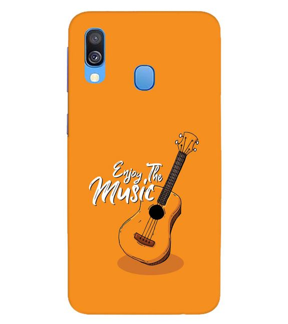 Enjoy the Music Back Cover for Samsung Galaxy A40