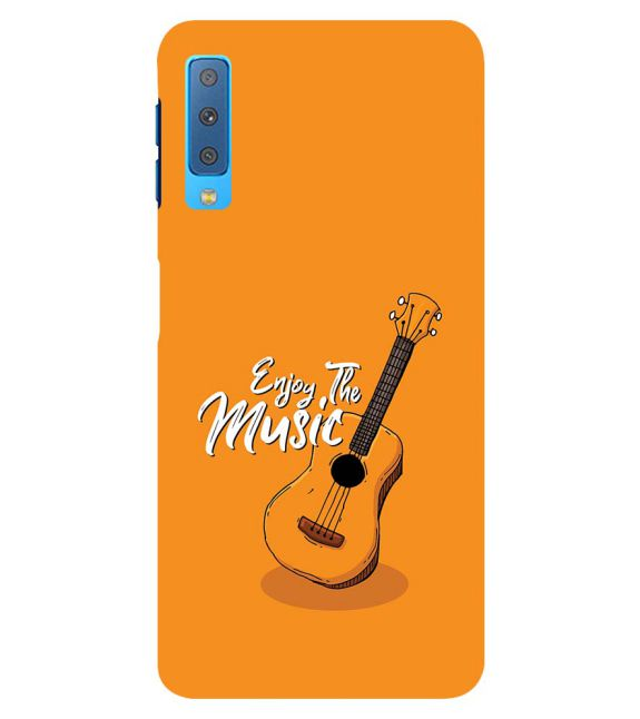 Enjoy the Music Back Cover for Samsung Galaxy A7 (2018)