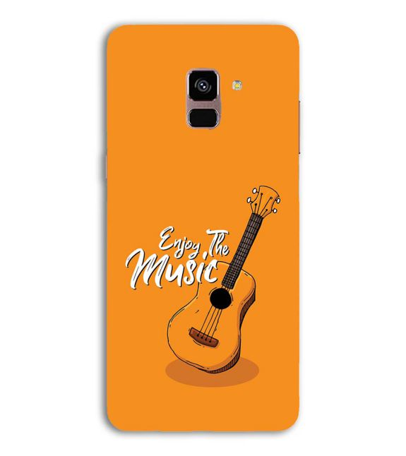 Enjoy the Music Back Cover for Samsung Galaxy A8 (2018)