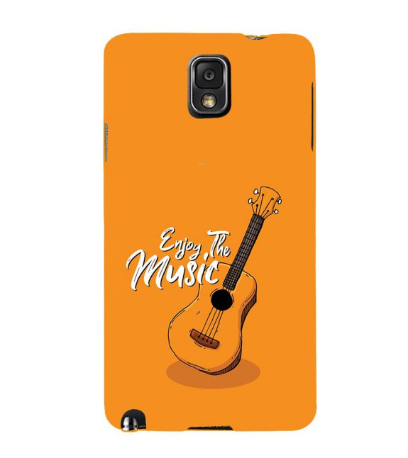 Enjoy the Music Back Cover for Samsung Galaxy Note 3