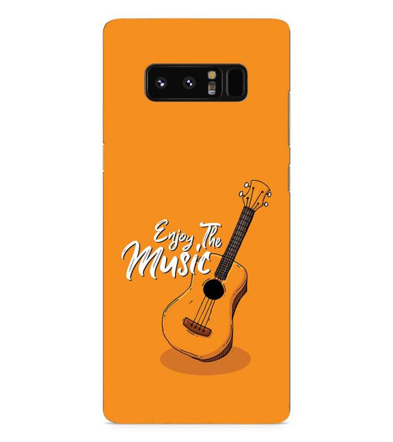 Enjoy the Music Back Cover for Samsung Galaxy Note 8