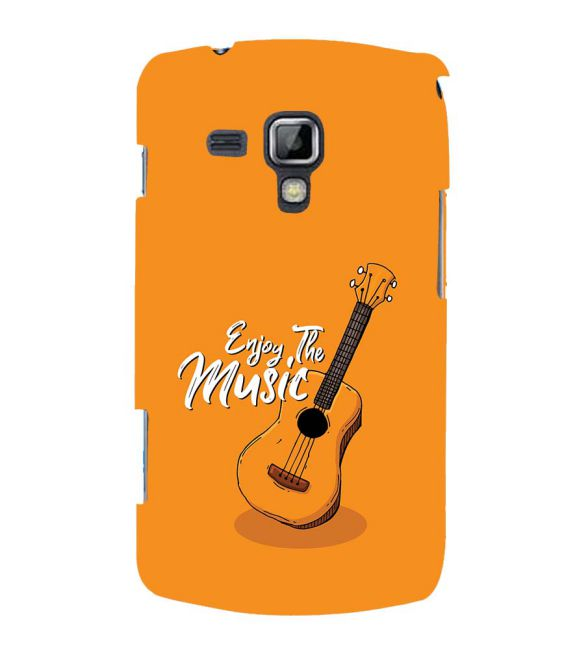 Enjoy the Music Back Cover for Samsung Galaxy S Duos and S Duos 2