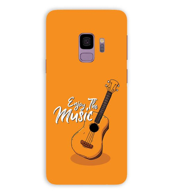 Enjoy the Music Back Cover for Samsung Galaxy S9