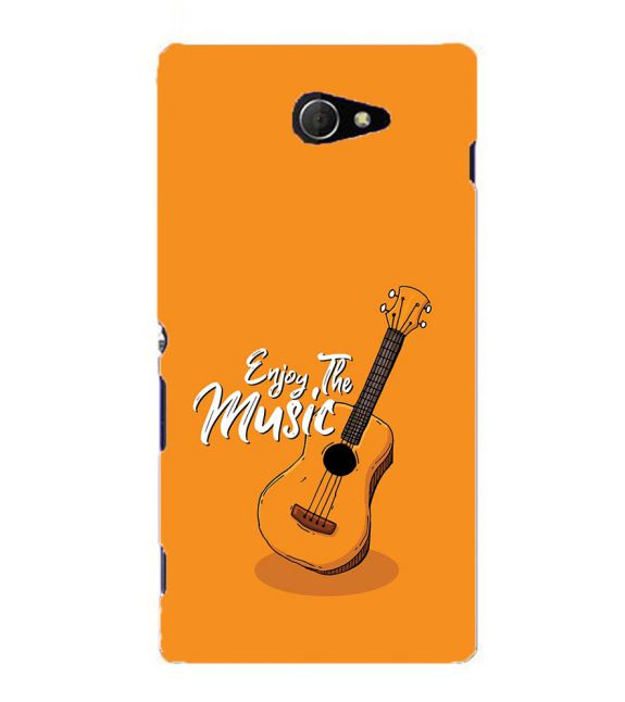 Enjoy the Music Back Cover for Sony Xperia M2
