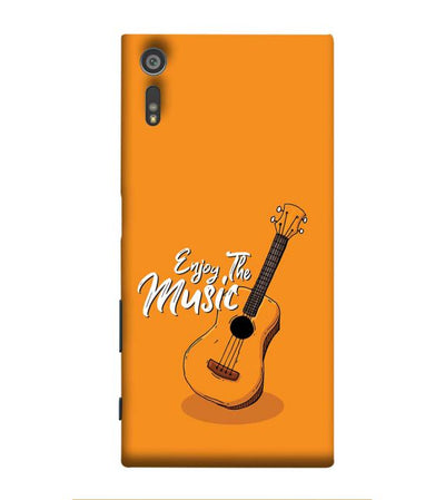 Enjoy the Music Back Cover for Sony Xperia XR
