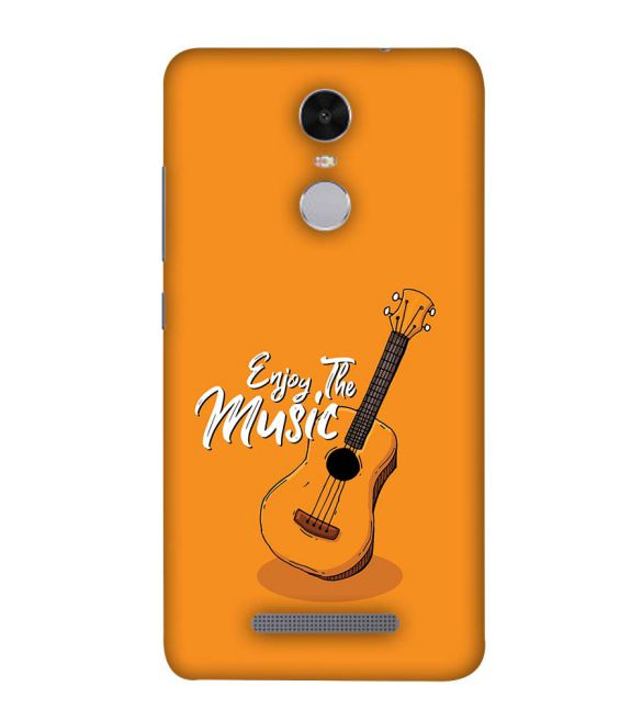 Enjoy the Music Back Cover for Xiaomi Redmi Note 4