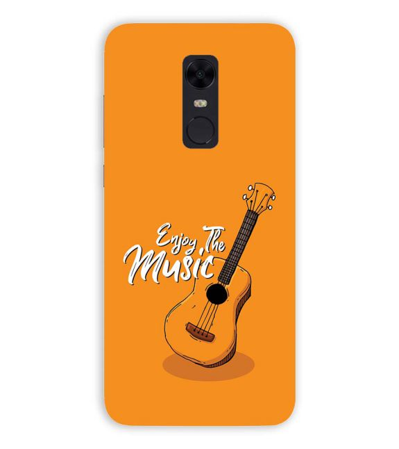 Enjoy the Music Back Cover for Xiaomi Redmi Note 5