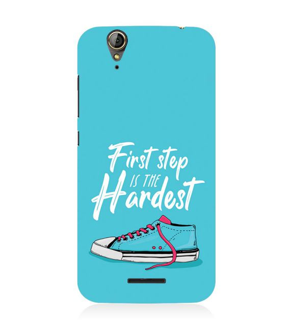 First Step is Hardest Back Cover for Acer Liquid Zade 630