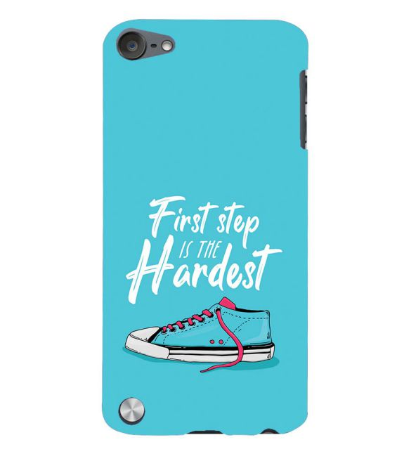 First Step is Hardest Back Cover for Apple iPod Touch 5