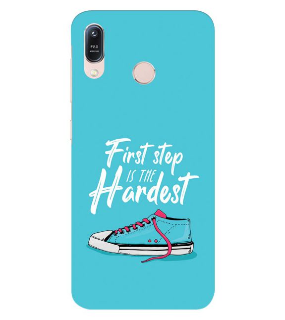 First Step is Hardest Back Cover for Asus Zenfone Max (M1) ZB556KL